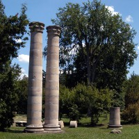 Carnegie Library Columns at Rockcliffe Park