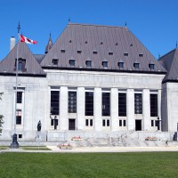 Canadian Supreme Court building