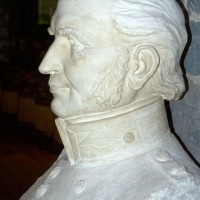 Bust of Ottawa`s founder Colonel John By