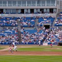 Ottawa Lynx baseball game against the Red Barons
