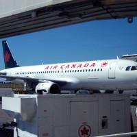 Air Canada plane at Ottawa airport