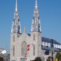 Our Lady of Ottawa Cathedral Basilica on Sussex Drive in the By Ward Market