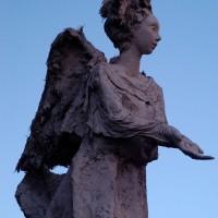 Xmas angel sculpture