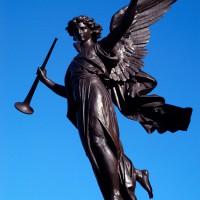 Angel on Sussex Drive in Ottawa`s By Ward Market