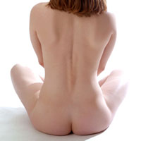 Figure model sitting on the floor