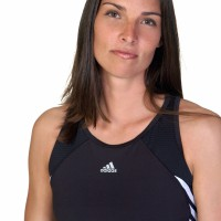 Woman in athletic outfit