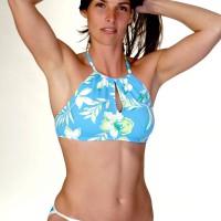 Shapely women in swimsuit