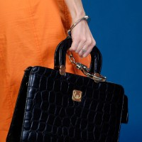 Woman handcuffed to briefcase